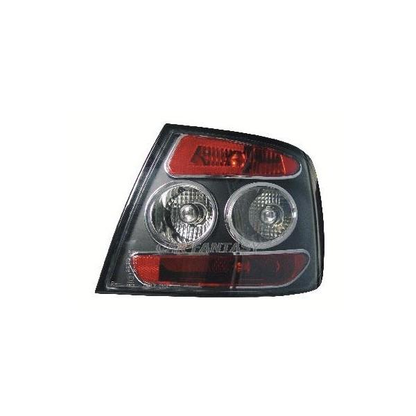 Achterlichten Audi A4 Limousine 95-01 lexus look zwart