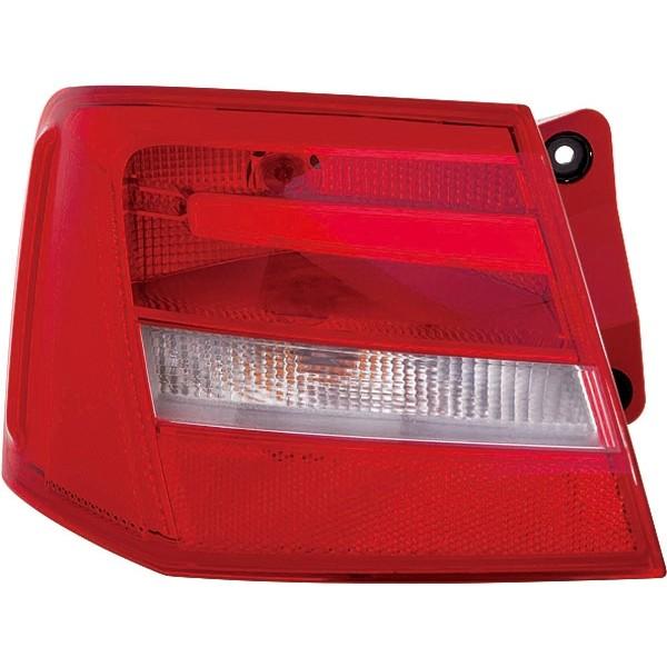Achterlicht rechts Audi A6 4G 11- Rood/wit