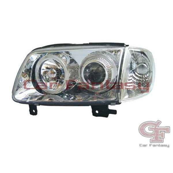 Koplampen VW Polo 6N2 Angel eyes chroom AANBIEDING</stro