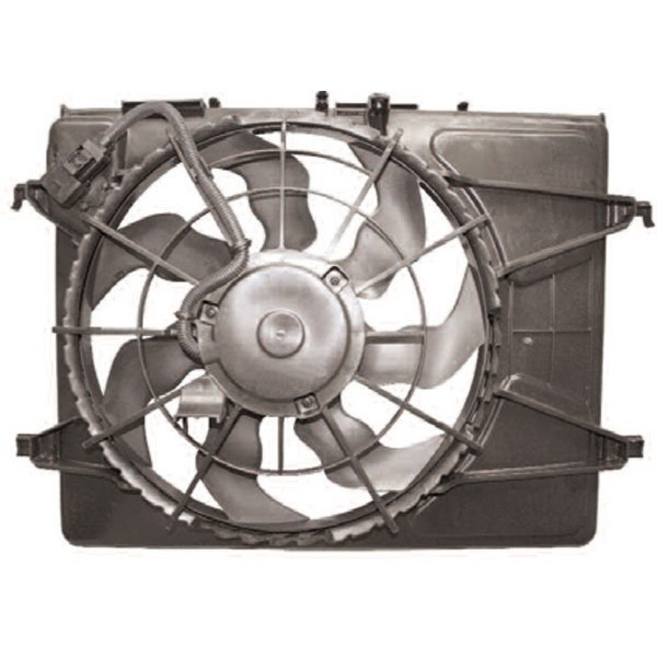 Aircofan HYUNDAI I30 07->> 420mm 1.4 BENZINE +AC