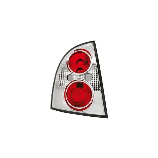 Achterlichten VW Passat 3B 97-00 sedan chroom