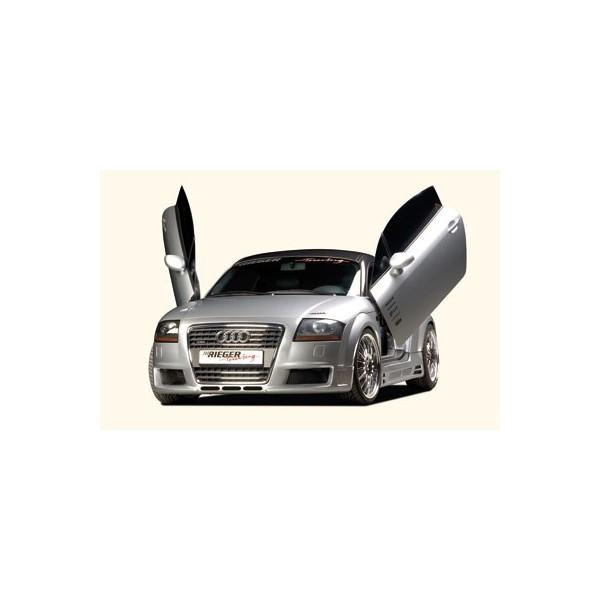 Voorbumper Audi TT Rieger R-Frame met air-intakes