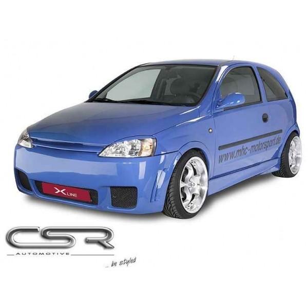 Voorbumper Opel Corsa C X-Line
