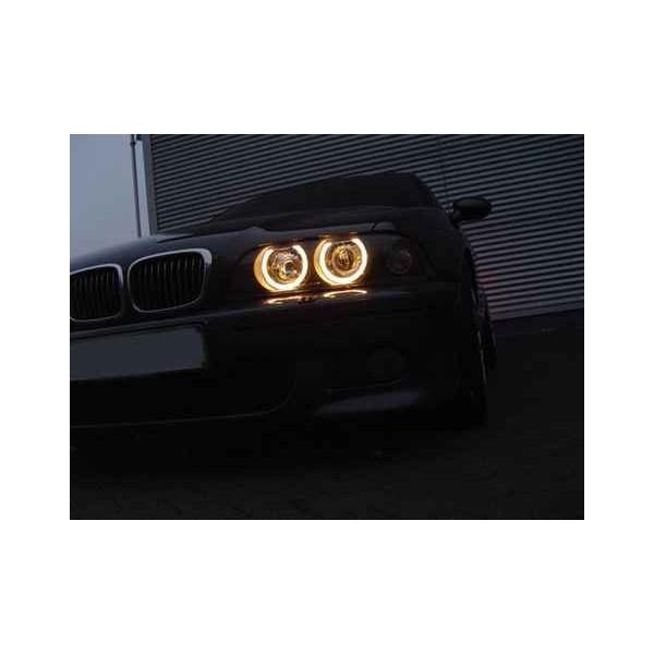Koplampen BMW E39 Angel Eyes voor xenon
