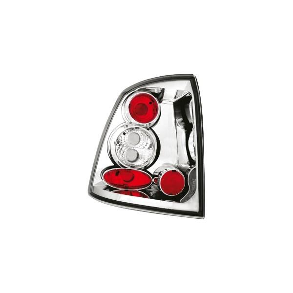 Achterlichten Opel Astra G lexus chroom