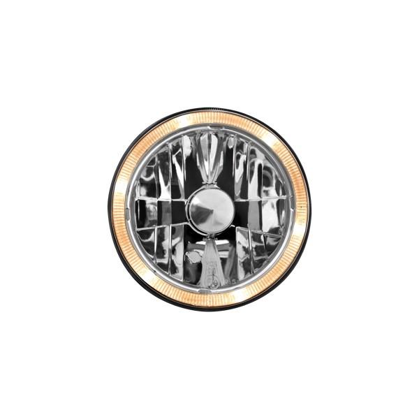 Koplampen VW Golf II Angel Eyes clear chroom