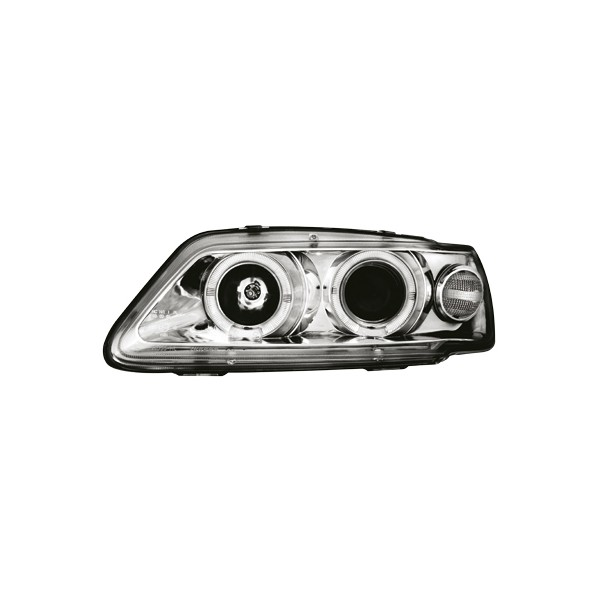 Koplampen Peugeot 306 93-97 Angel Eyes chroom