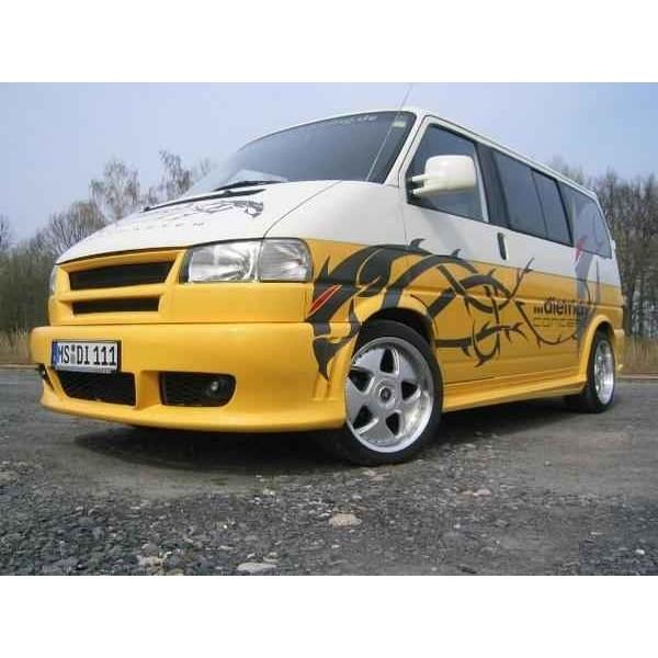 Voorbumper VW Bus T4 (GP) 1/96- (Wijsneus) RS4 style