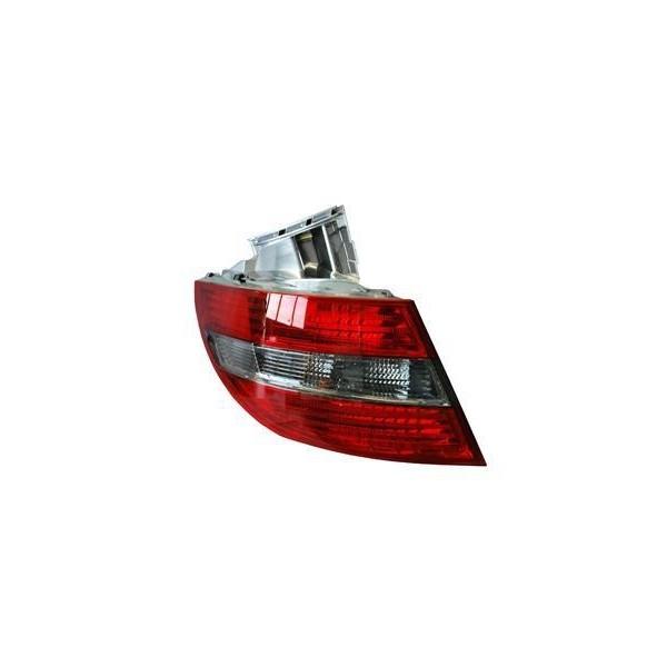achterlicht, buiten, smoke, incl fittingdeel, rechts Mercedes CL