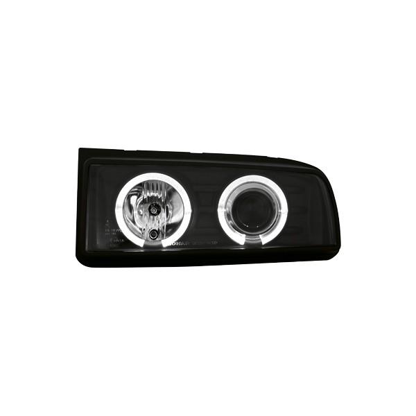 Koplampen VW Corrado Angel eyes zwart
