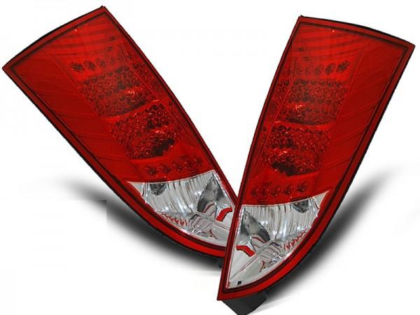 Achterlichten LED Ford Focus 01-.. rood
