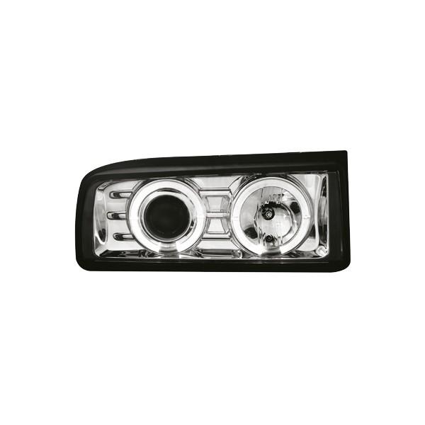 Koplampen VW Corrado Angel eyes chroom