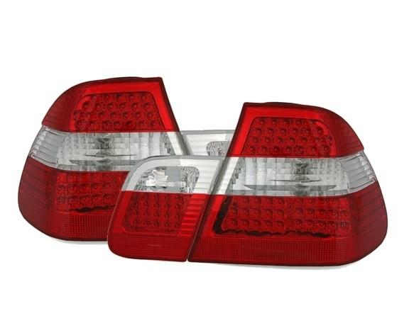 Achterlichten BMW E46 sedan 98-01 LED rood/wit