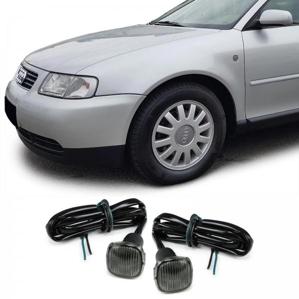 Zijknipperlichten Audi A3, A4, A8 Smoke