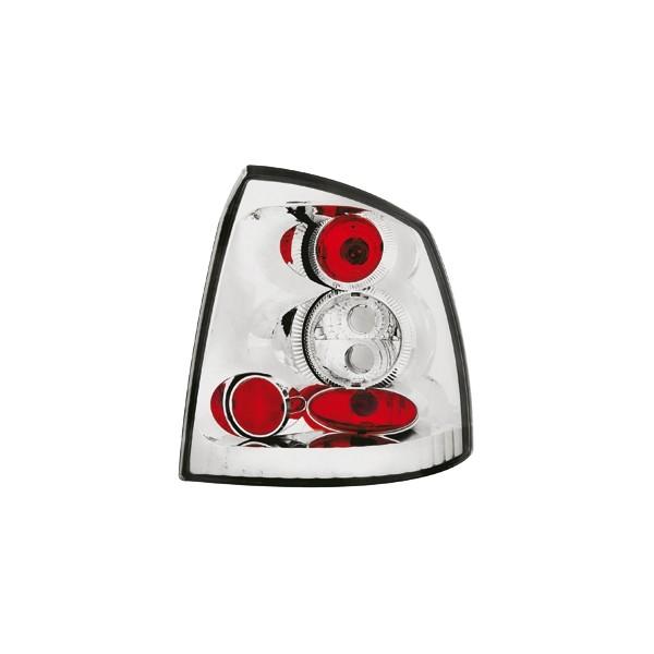 Achterlichten Opel Astra G Coupe lexus chroom