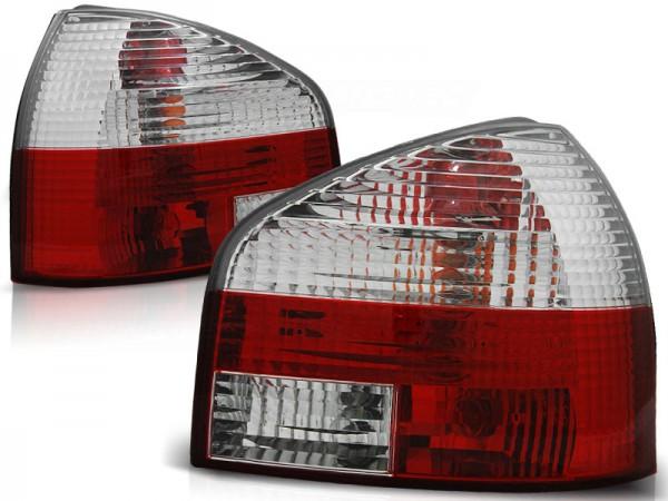 Achterlichten Audi A3 95-01 Rood/Wit