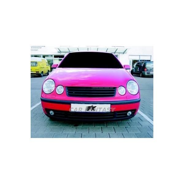 Grill VW Polo 9N 01-05 zwart