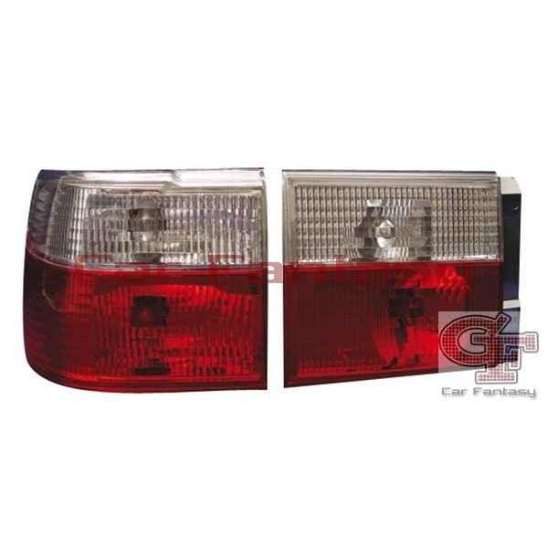 Achterlichten VW Vento helder rood/wit