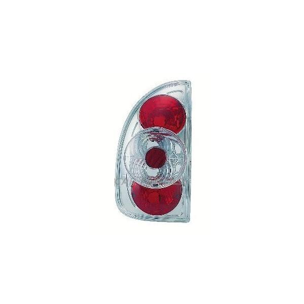 Achterlichten Opel Corsa B 5 deurs, lexus chroom
