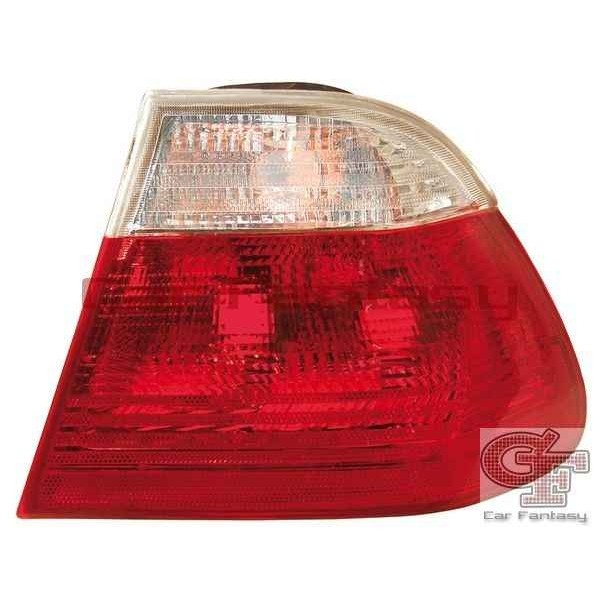 Achterlichten BMW E46 sedan 98-01 rood/wit