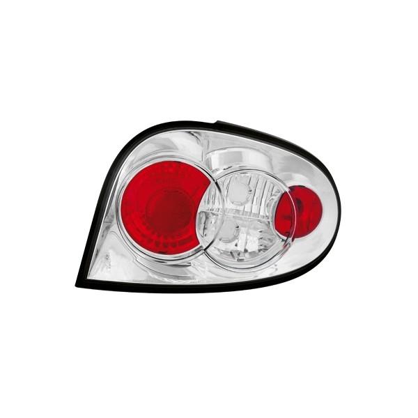 Achterlichten Renault Megane 99-02 chroom