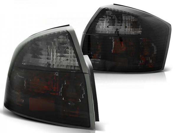Achterlichten Audi A4 Limousine 01-04 zwart