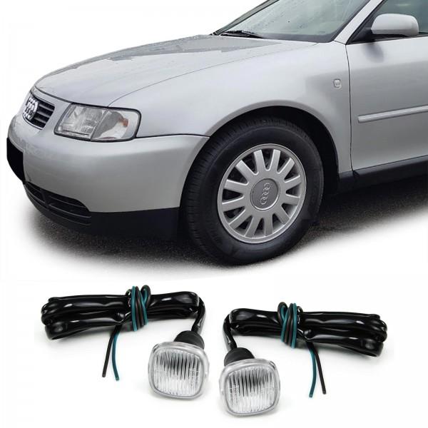 Zijknipperlichten Audi A3, A4, A8 Wit
