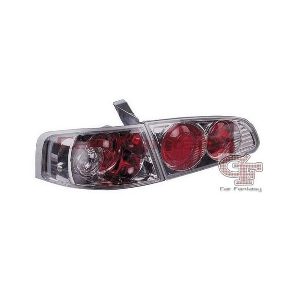 Achterlichten Seat Ibiza 03-.. lexus chroom