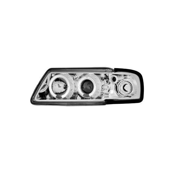 Koplampen Audi A3 8L Angel Eyes Chroom