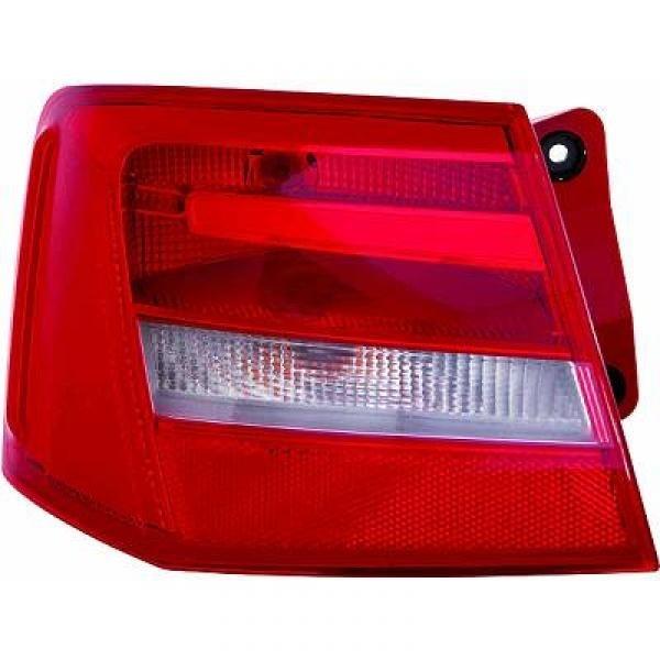 Achterlicht links Audi A6 4G 4G 11- Rood/wit